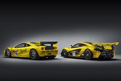 McLaren F1 GTR and McLaren P1 GTR