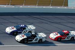Matt Kenseth, Martin Truex Jr. and Kurt Busch