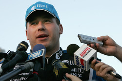 Interviews for pole winner Ryan Newman