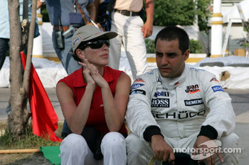 Connie and Juan Pablo Montoya