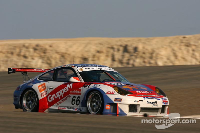 #66 Gruppe M Racing Porsche 996 GT3-RSR: Marc Lieb, Mike Rockenfeller