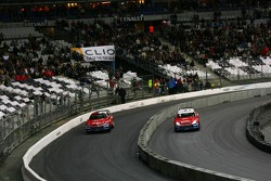 Quarter final: Sébastien Loeb and Travis Pastrana