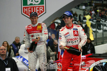 Champagne for Sbastien Loeb and Tom Kristensen
