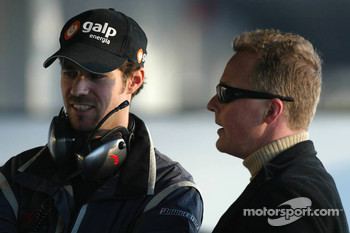 Tiago Monteiro and Johnny Herbert