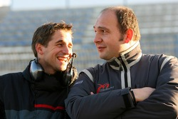 Christijan Albers with Colin Kolles
