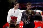 FIA World Rally Champions: Daniel Elena and Sbastien Loeb