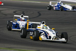 Marco Holzer leads Nicolas Huelkenberg