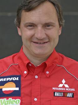 Team Repsol Mitsubishi Ralliart: Dominique Serieys