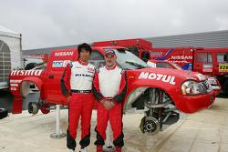Team Nissan Dessoude presentation: Jun Mitsuhashi and Jacky Dubois