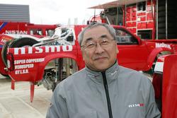 Team Nissan Dessoude presentation: CEO of Nissan France Akira Ogushi