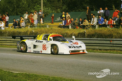 #86 Mazdaspeed Mazda 737C: David Kennedy, Phillippe Martin, Jean-Michel Martin