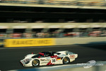 #36 Dauer 962 LM GT: Mauro Baldi, Yannick Dalmas, Hurley Haywood