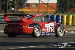 #78 Elf Haberthur Racing Porsche 911 GT2: Michel Neugarten, Jean-Claude Lagniez, Guy Martinolle