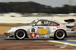#80 GT Racing Team Porsche 911 GT2: Claudia Hürtgen, Hugh Price, John Robinson
