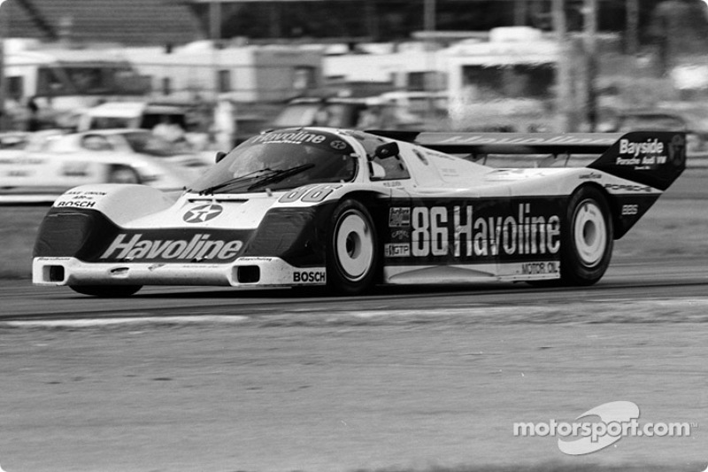 #86 Bayside Porsche 962: Klaus Ludwig, Hans Stuck, Sarel van der Merwe