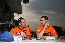 Carlo de Gavardo and Chris Blais
