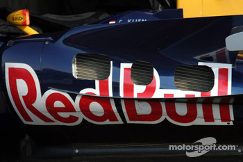 Detail of the Red Bull Racing RB2