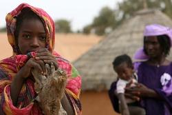 Fans in Mali
