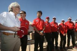 Repsol Mitsubishi Ralliart team members