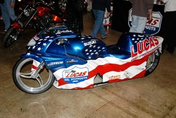 Want even more elbow room?  Get a drag bike
