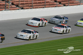 Jamie McMurray, Mark Martin, Carl Edwards and Kurt Busch