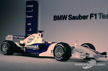 The BMW Sauber F1.06