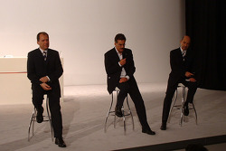 Willy Rampf, Mario Theissen and Peter Sauber