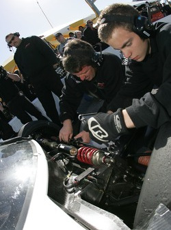 Howard - Boss Motorsports team members at work