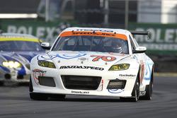 #70 SpeedSource Mazda RX-8: Sylvain Tremblay, David Haskell, Jeff Altenburg, Nick Ham