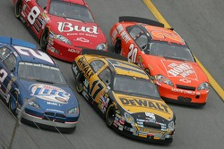 Kurt Busch, Matt Kenseth, Tony Stewart and Dale Earnhardt Jr.
