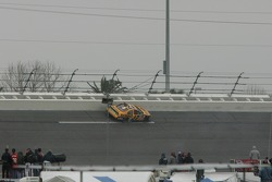 Matt Kenseth in the wall in turn 3