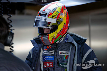 Tiago Monteiro, Midland F1 driver at Silverstone for a testing session