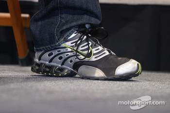 Shoes of Michael Waltrip