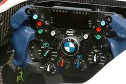 Steering wheel of the BMW Sauber F1.06