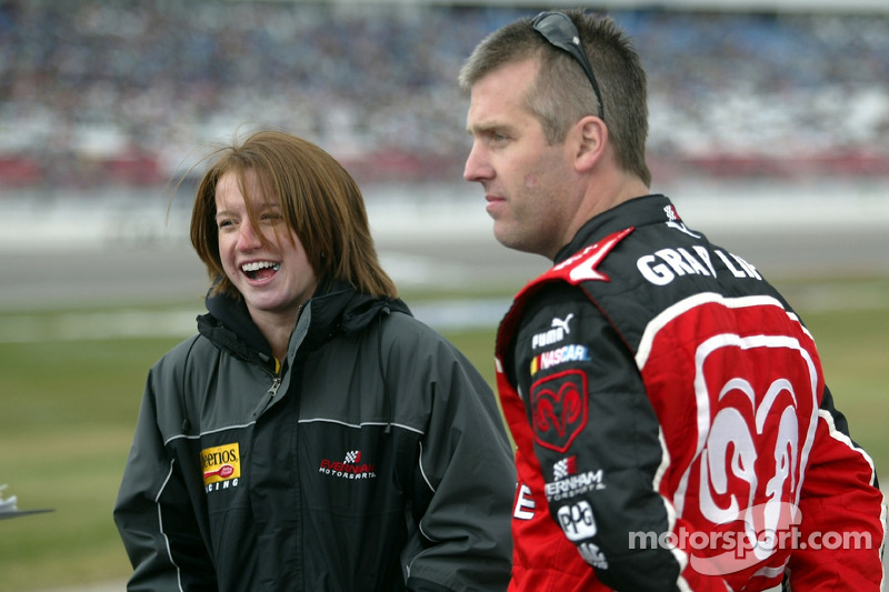 Erin Crocker And Jeremy Mayfield Nascar Sprint Cup