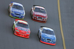 Ken Schrader, Jeff Gordon, Carl Edwards and Brian Vickers