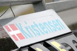 Tom Kristensen's pitboard