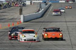 #78 J3 Racing Porsche 911 GT3 RSR: Spencer Pumpelly, Jep Thornton, Mark Patterson, #80 Team LNT Panoz  Esperante GTLM: Lawrence Tomlinson, Richard Dean, Tom Kimber-Smith