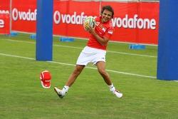 Vodafone Rugby 7s Challenge: Felipe Massa