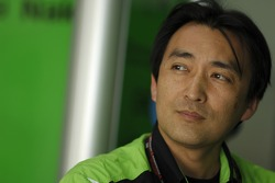 Kawasaki Racing team member