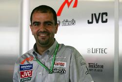 MF1 engineer Jose Santos