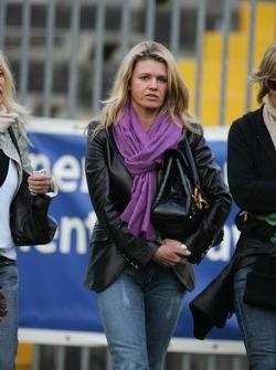 Champions for Charity football match, Ravenna's Benelli Stadium: Corina Schumacher