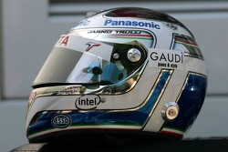 The new helmet of Jarno Trulli