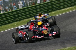 Scott Speed leads Christian Klien