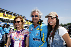 Flavio Briatore and friends