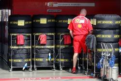 Bridgestone tyres at Scuderia Ferrari