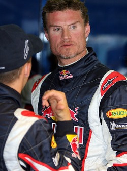 Christian Klien and David Coulthard