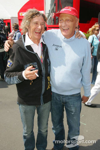 Arturo Merzario who saved the life of Niki Lauda after his crash on the Nordschleife in 1976