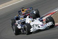 Nick Heidfeld leads Christian Klien