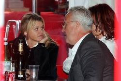 Corina Schumacher, Rolf Schumacher and Barbara Stahl